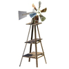 Garden Treasures 49.75-in H Windmill Garden Statue