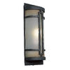Portfolio 17-in Black Outdoor Wall Light ENERGY STAR