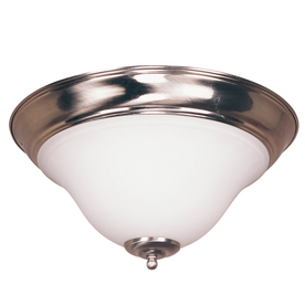 Bel Air Lighting 16-1/2-in Brushed Nickel Ceiling Flush Mount