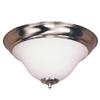 Bel Air Lighting 16.5-in W Brushed Nickel Ceiling Flush Mount