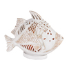 Bel Air Lighting 13-in White Decorative Fish Accent Lamp with Shade