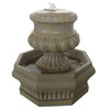 Garden Treasures Urn 2-Tier Fountain
