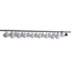 Garden Treasures 14.42-ft White Lantern Solar-Powered Patio String Lights