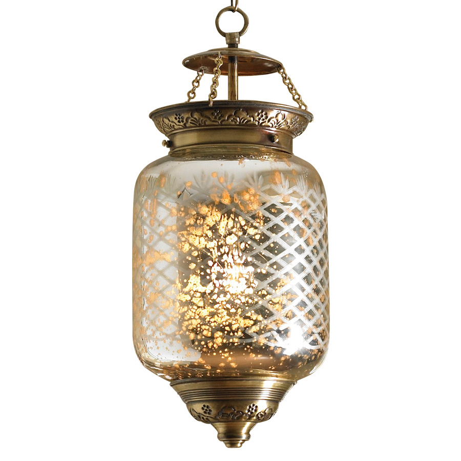 in W Antique Gold Kitchen Island Light with Glass Shade at Lowes com