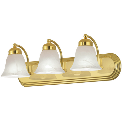 Vanity Lights Gold : 3 light bathroom Vanity bath lighting brass/gold finish eBay