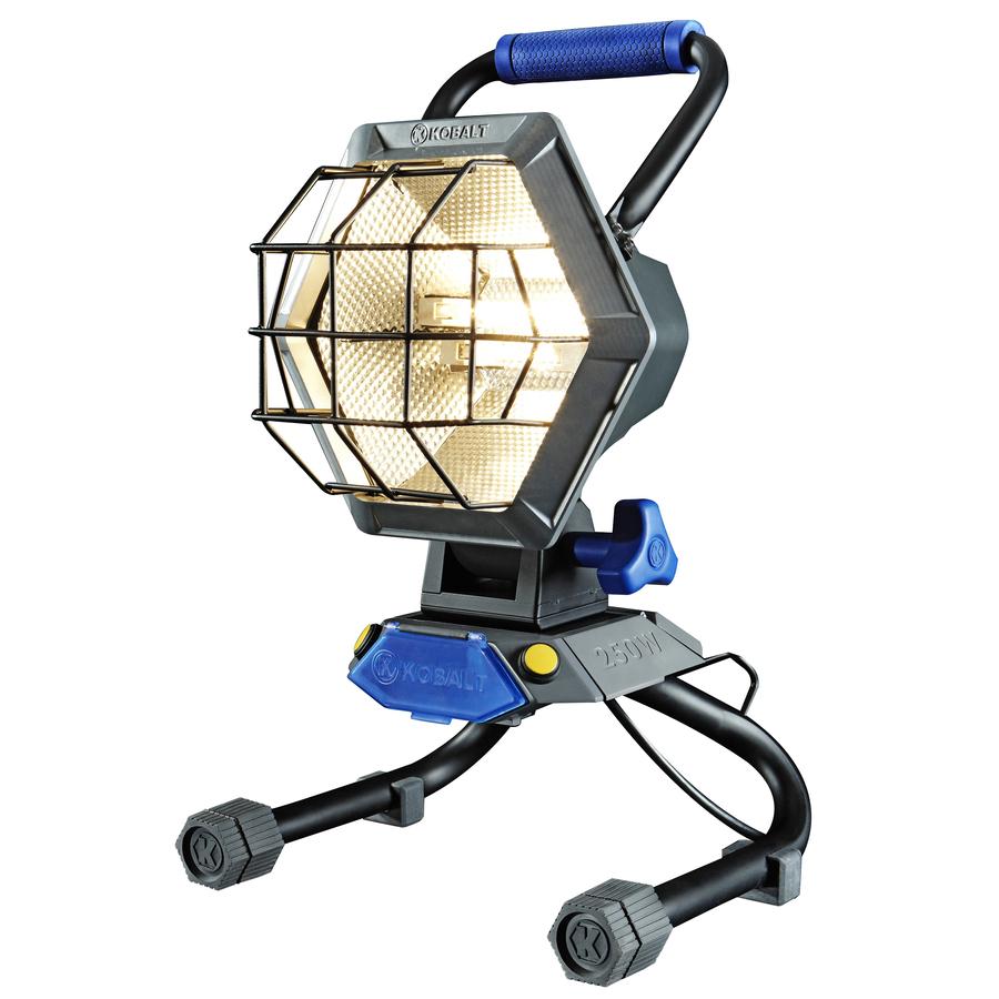 Halogen Lights For Shop: Shop Kobalt 750-Watt Halogen Work Light At Lowes.com