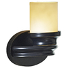 allen + roth 9-1/4-in W 1-Light Dark Oil-Rubbed Bronze Arm Wall Sconce