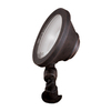 allen + roth Rust Low-Voltage LED Wall Wash Flood Light