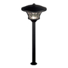 allen + roth Black Low-Voltage LED Path Light