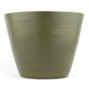 allen + roth 10-1/4-in H x 14-in W x 14-in D Green Wood Indoor Planter