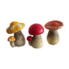 Garden Treasures Cement deco garden mushrooms