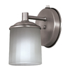 Bel Air Lighting 2 pack brushed pewter wall light