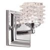 Portfolio 4.25-in W 1-Light Polished Chrome Arm Hardwired Wall Sconce