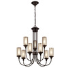 Portfolio 9-Light Bronze Chandelier