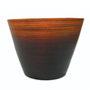 allen + roth 10-in H x 10-in W x 10-in D Ochre Planter