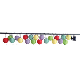 Mini Patio String Lights : Shop 9.4-ft Multicolor Mini Bulb Cylindrical Patio String Lights at Lowes.com