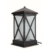 allen + roth 15-in Oil-Rubbed Bronze Outdoor Table Lamp