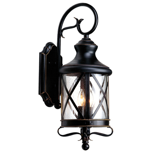 allen roth oil rubbed bronze outdoor wall light from lowes lighting. Black Bedroom Furniture Sets. Home Design Ideas
