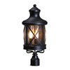 allen + roth Oil-Rubbed Bronze Post Mount