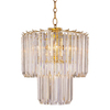 Portfolio 5-Light Back to Basics Polished Brass Chandelier