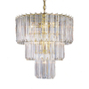 Portfolio 9-Light Back to Basics Polished Brass Chandelier