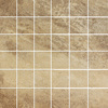 FLOORS 2000 13-in x 13-in Tracks Gold Glazed Porcelain Mosaic Floor Tile