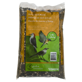 Garden Treasures 4-lb Bird Seed Bag (Nut and Fruit)