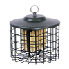 Garden Treasures Metal Squirrel-Resistant Two-Cake Suet Feeder