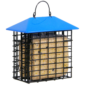 Garden Treasures Black 2-Cake Plastic Suet Feeder