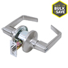 TELL MANUFACTURING, INC. Lt2000 SilverPush-Button Lock Privacy Door Lever