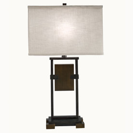 Westwood Collection 25.5-in Cambridge Indoor Table Lamp with Fabric Shade