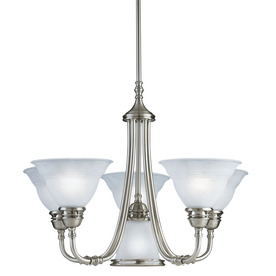 Portfolio Newport 6-Light Antique Pewter Chandelier