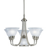 Portfolio 6-Light Newport Antique Pewter Chandelier