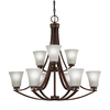 Westwood Collection Lyndsay 9-Light Light Oil Rubbed Bronze Chandelier ENERGY STAR