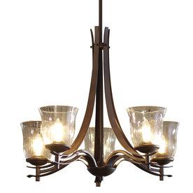 allen + roth 5-Light Olde Bronze Chandelier