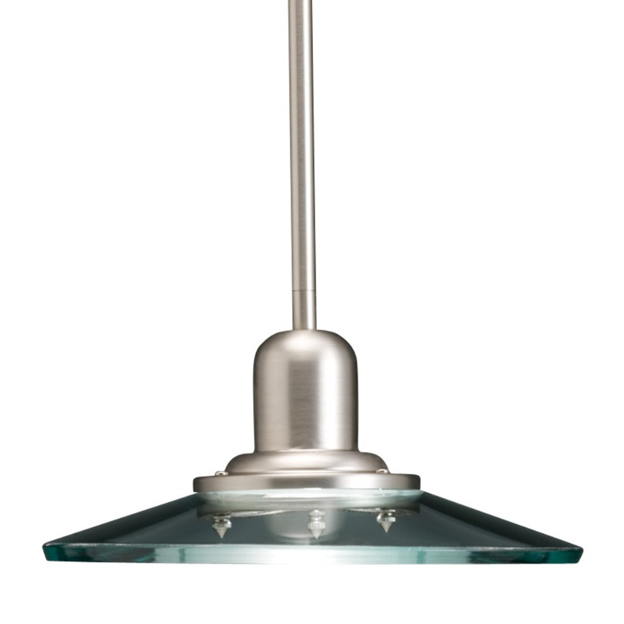 Allen Roth Galileo 10 In W Brushed Nickel Mini Pendant
