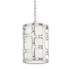 Kichler Lighting Sabine 10-in W Pendant Light with Fabric Shade