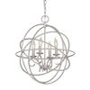 Kichler Lighting 21.037-in 4-Light Standard Chandelier