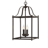 allen + roth Collinwick 10-in W Specialty Bronze Pendant Light with Shade