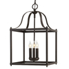allen + roth Collinwick 12.05-in W Specialty Bronze Pendant Light with Shade