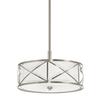 Kichler Lighting Edenbrook 17.01-in Brushed Nickel Single Pendant