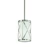 Kichler Lighting Edenbrook 6.46-in Brushed Nickel Mini Pendant