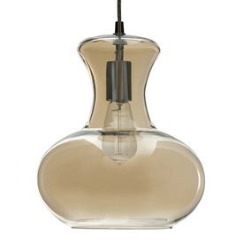 shop allen roth w aged bronze pendant light. Black Bedroom Furniture Sets. Home Design Ideas