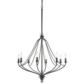 Shop Kichler Lighting Carlotta 8 Light Anvil Iron And