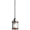 Kichler Lighting Barrington 5.5-in W Hardwired Standard Mini Pendant Light with Clear Glass Shade