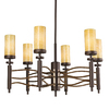 Portfolio 6-Light Millry Olde Bronze and Cashmere Chandelier