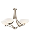 Portfolio 4-Light Chatham Antique Pewter Chandelier