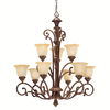Portfolio 9-Light Cheswick Parisian Bronze Chandelier