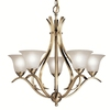 Portfolio 5-Light Dover Antique Brass Chandelier