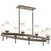 Portfolio 8-Light Ladero Shadow Bronze Chandelier